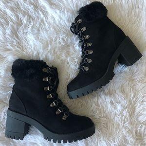 Top Moda Chunky Heel Boots